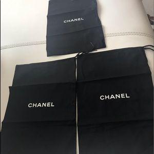 CHANEL Shoes Dust Three  Bags